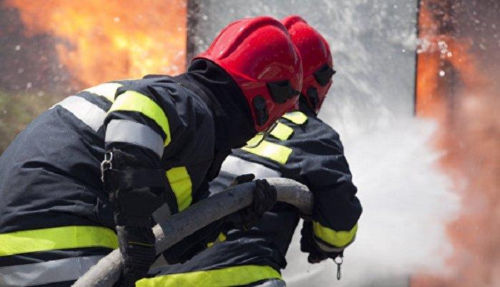 ВИркутской области произошел пожар наскладе