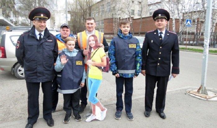 ВТомске упешеходных переходов появились макеты детей