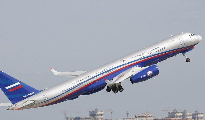 Первый этап освидетельствования нового самолета Ту-214ОН подошел кконцу