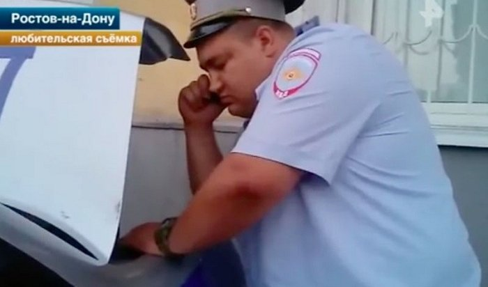Житель Ростова вынудил полицейских выписать штраф самим себе (Видео)