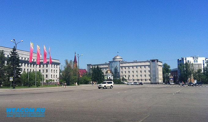 Движение транспорта ограничат вцентре Иркутска 2июня