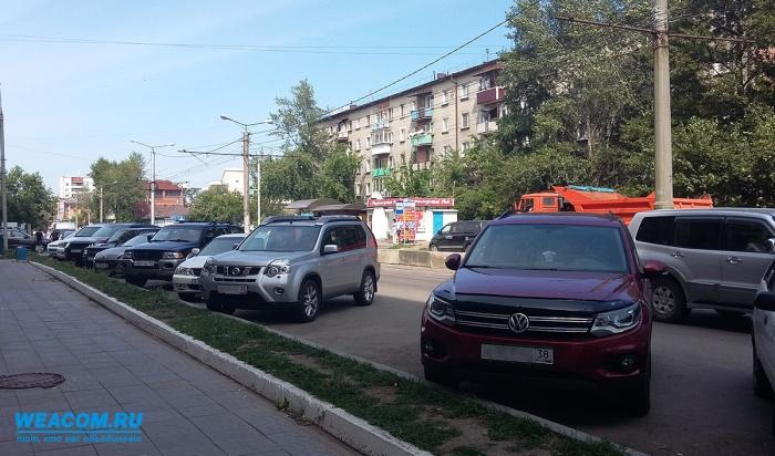 ВИркутске оборудуют четыре парковки удетских садов