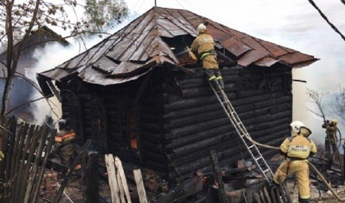 Двое маленьких детей погибли напожаре вИркутске