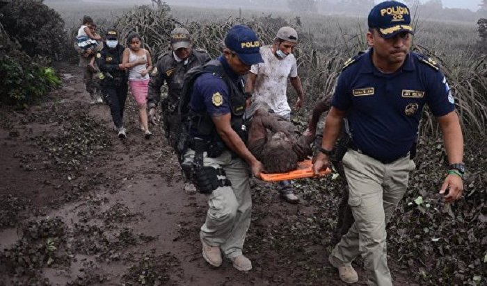 ВГватемале сообщили о200пропавших без вести жителях после извержения вулкана