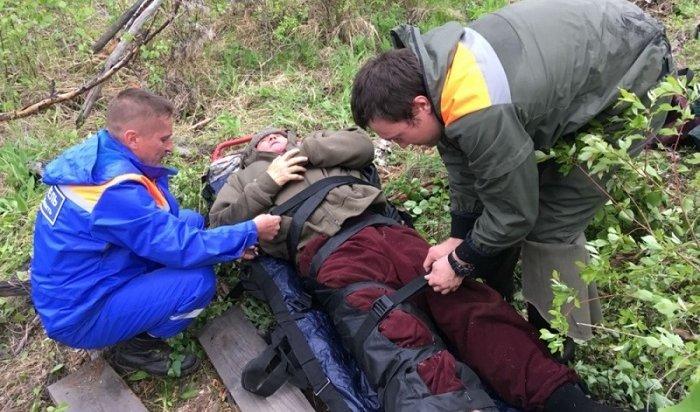 Сборщику черемши под Иркутском понадобилась помощь спасателей