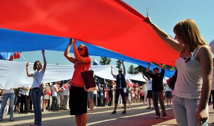 День России празднуют вИркутске 12июня