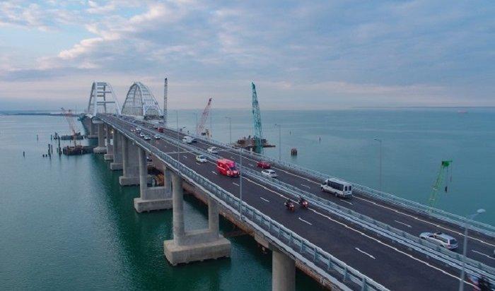 Рекорд потрафику установили наКрымском мосту