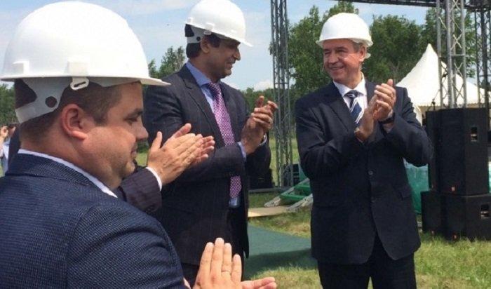 ВУсолье-Сибирском началось строительство фармацевтического завода
