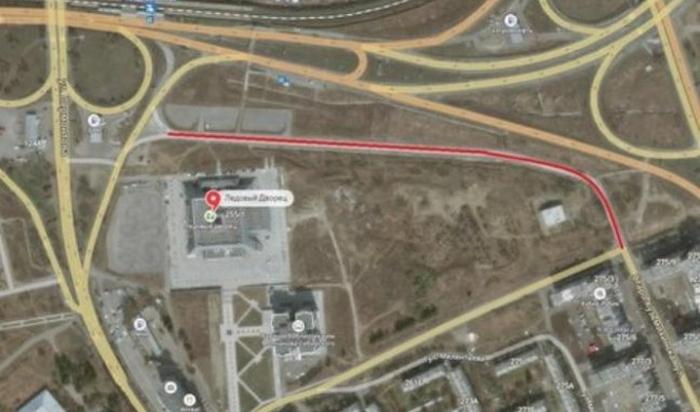 ВИркутске для транспорта нагод закрыт проезд поулице Старокузьмихинской