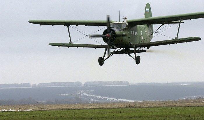 Жесткую посадку совершил самолет Ан-2 вНижнеудинске