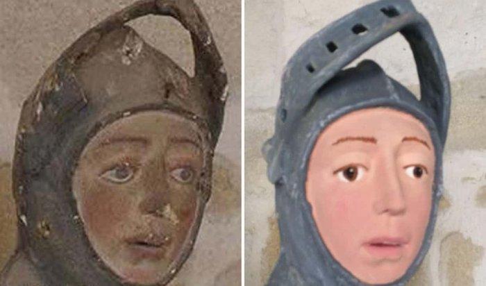 Реставрация скульптуры XVI века вИспании вызвала шок уместных жителей