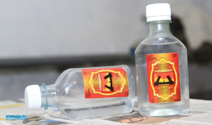 ВБратске уничтожили почти 5000тысяч литров поддельного «Боярышника»