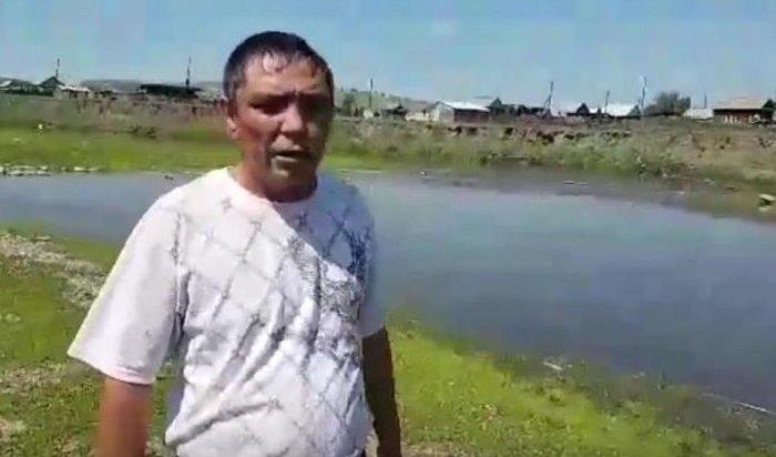Житель Нукутского района спас жизнь утопающей школьнице (Видео)