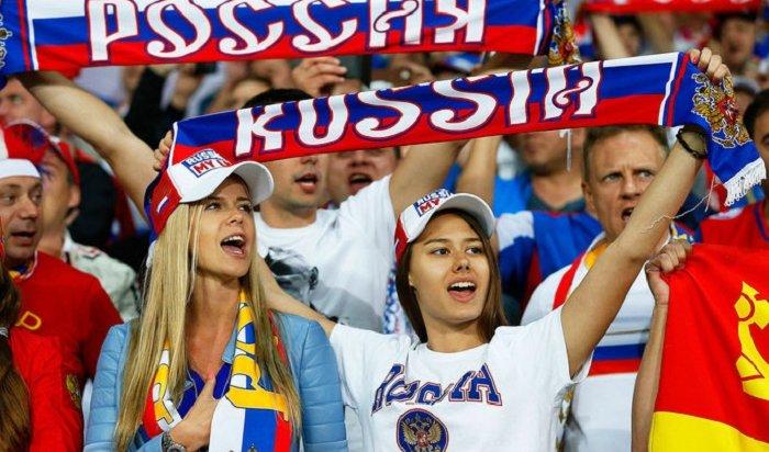 Российские футболисты готовятся кматчу сИспанией