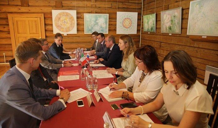 Сергей Левченко: Россия иИталия заинтересованы вразвитии взаимовыгодного сотрудничества