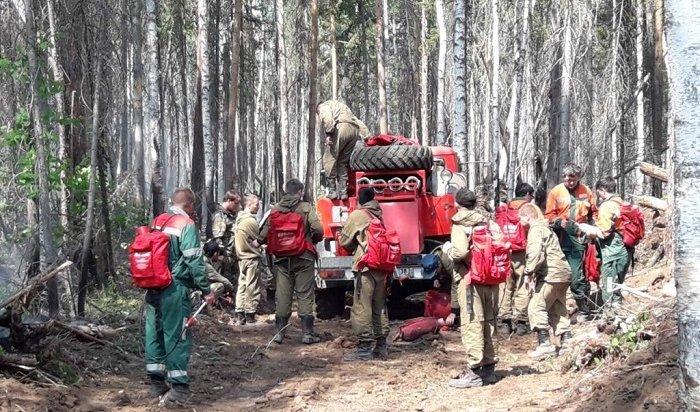 ВПриангарье ликвидировали 34лесных пожара ввыходные дни
