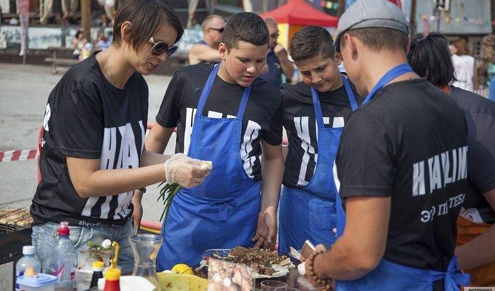 Гастрономический фестиваль Grill Fest прошел наГоре Соболиной