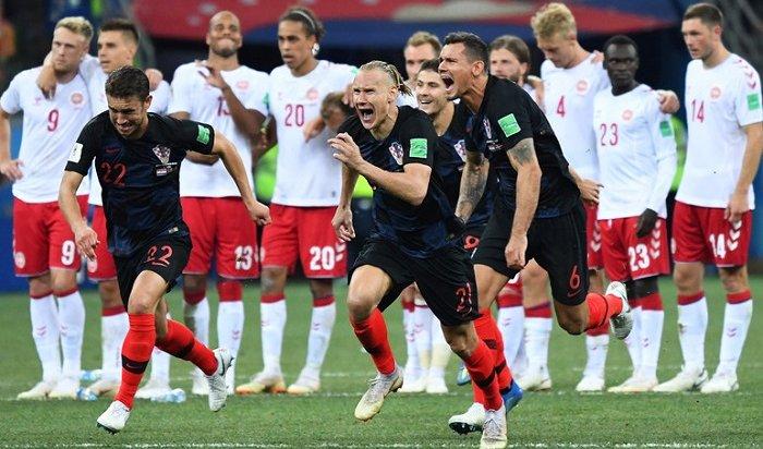 Хорваты станут соперниками россиян вчетвертьфинале ЧМ-2018