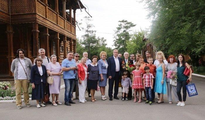 Участника Великой Отечественной войны Ивана Бровкина поздравил сюбилеем губернатор Приангарья
