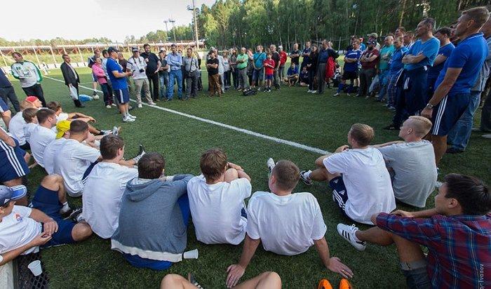 Хоккеисты «Байкал-Энергии» встретятся сболельщиками 11июля