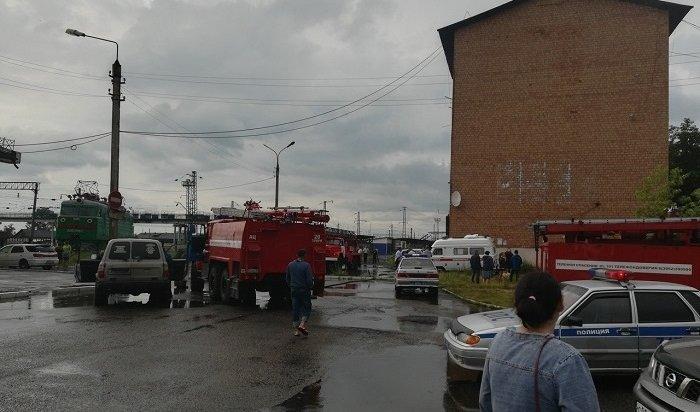 Следователь задохнулась напожаре влинейном пункте полиции вТулуне