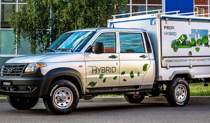 УАЗ создал гибридный грузовик с«автоматом»