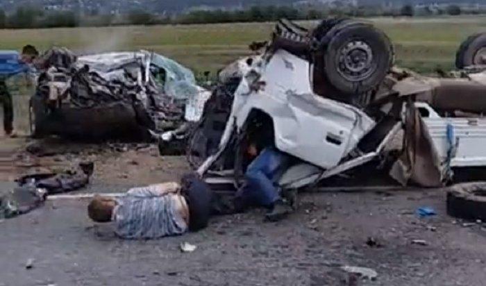 Страшное ДТП вБурятии: подороге наБайкал погибла семья изКемерово (Видео)
