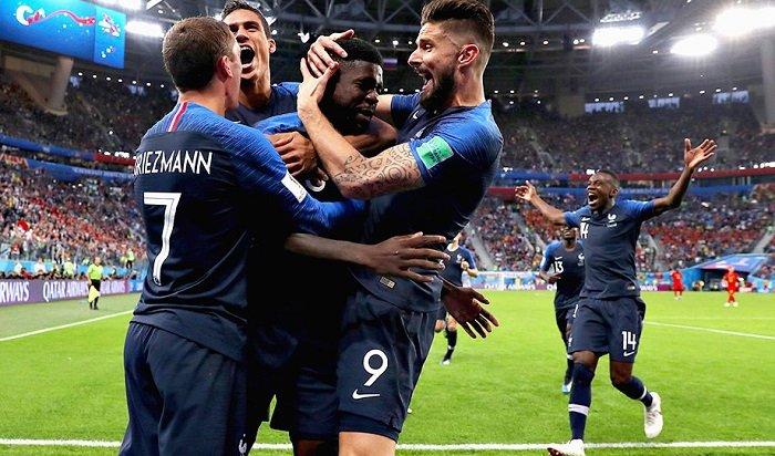 Франция сыграла сБельгией вполуфинале ЧМ-2018 ипобедила