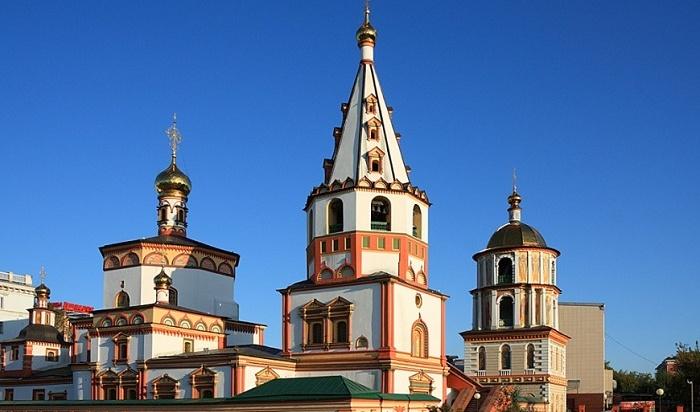Икону Казанской Божьей матери освятили вИркутске для собора Богоявления