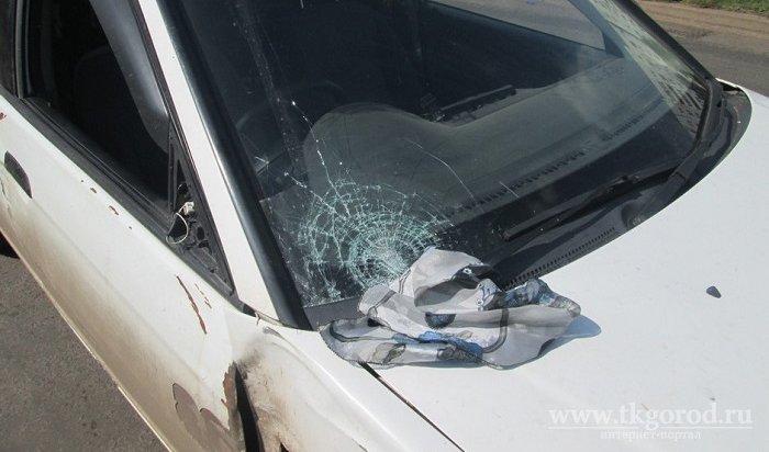 ВБратске водитель Honda Civic сбил пенсионерку