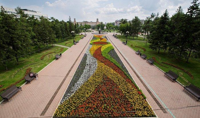 Зеленые скульптуры обновили вИркутске