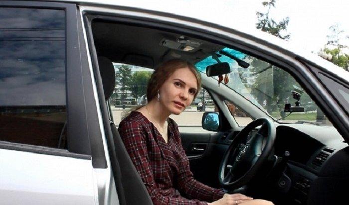 Полицейские вернули иркутянке угнанный автомобиль (Видео)