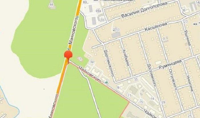 ВИркутске частично ограничат движение транспорта наКайской горе