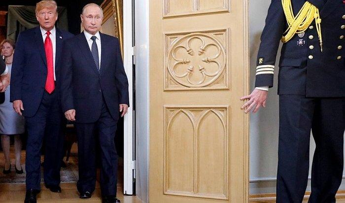 Путин встретился сТрампом тет-а-тет