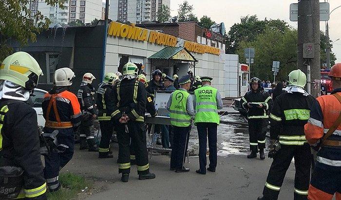 Вмосковском кафе прогремела серия взрывов