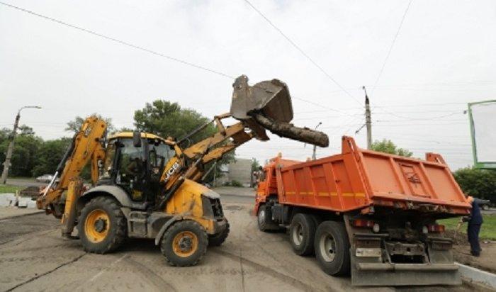 ВИркутске пообещали сократить сроки дорожного строительства