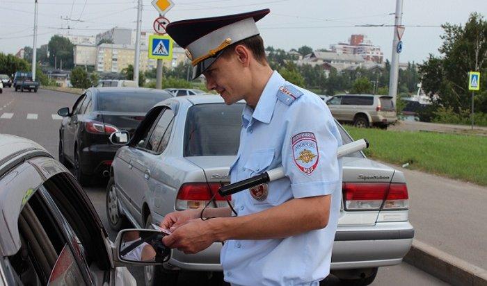 ВИркутске  проверяли использование детских удерживающих устройств иремней безопасности