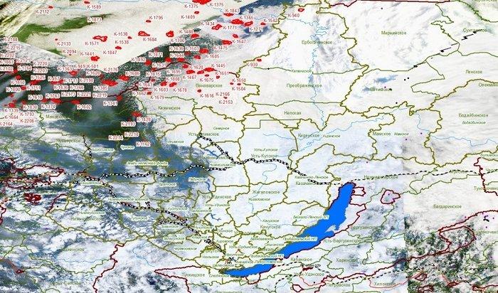 Дым вИркутскую область принесло изКрасноярского края иЯкутии
