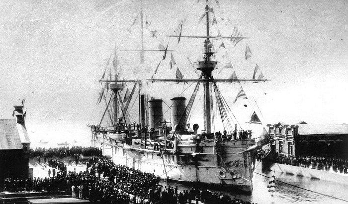 Уберегов Южной Кореи найден затонувший в1905году российский крейсер сгрузом золота (Видео)