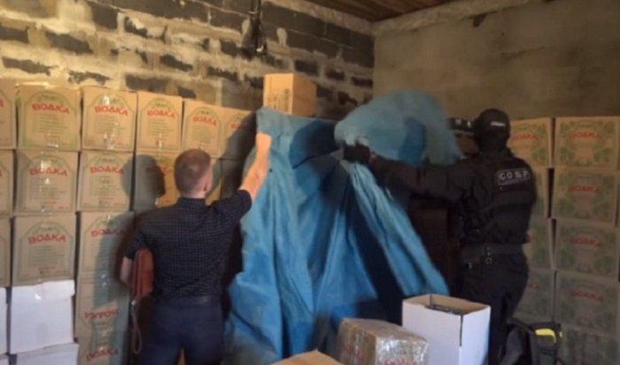 ВИркутской области  «накрыли» крупную бутлегерскую сеть (Видео)