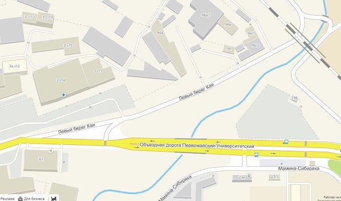 Проезд поулице Левый берег Каи вИркутске будет ограничен с28июля