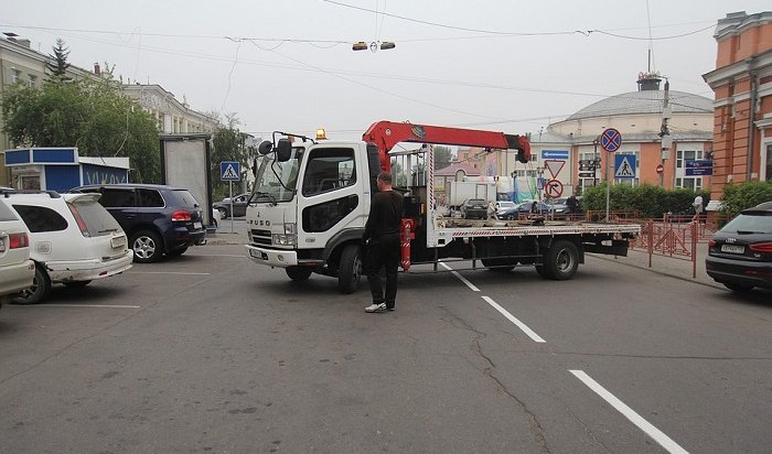 Вавгусте вИркутске станет меньше мест для парковки