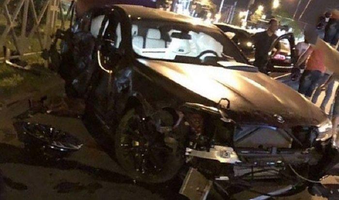 Футболист Федор Смолов разбил машину за9миллионов рублей исбежал сместа ДТП