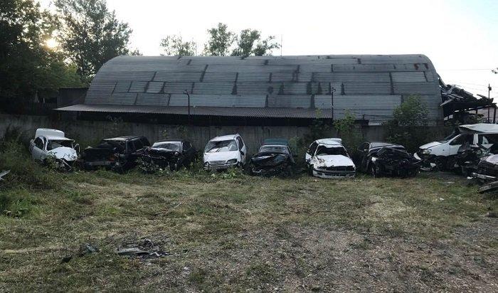 ВИркутске откроют первую вРоссии выставку разбитых автомобилей