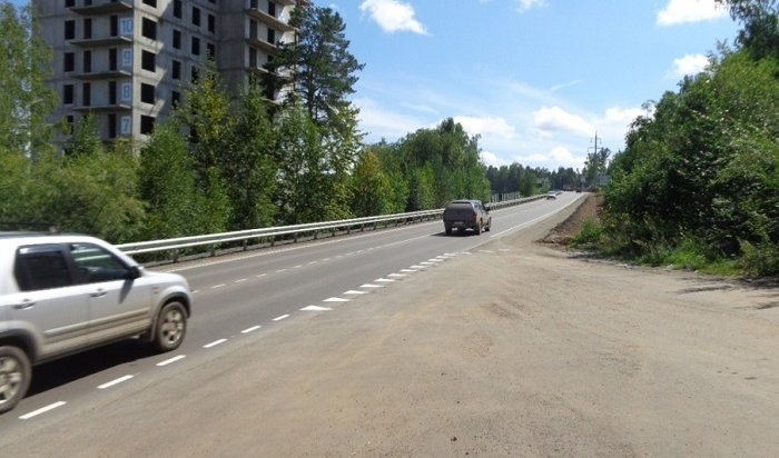 ВИркутском районе отремонтировали дорогу кпоселку Березовому