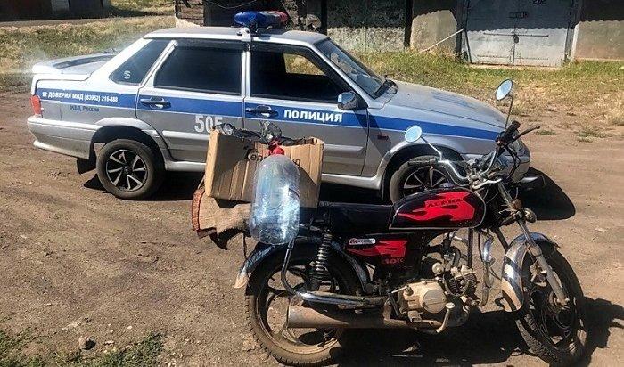 ВБратске 17-летний байкер устроил погоню сполицейскими