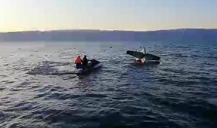 Легкомоторный самолет утонул вБайкале (Видео)