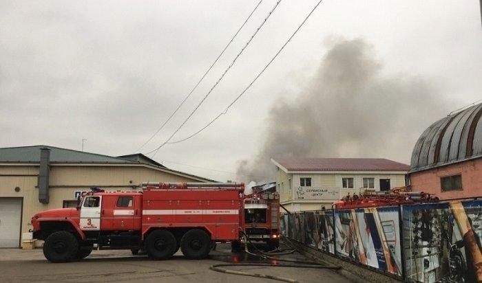 ВИркутске задержали троих дорожных строителей, виновных впожаре наскладах наулице Сурнова (Видео)