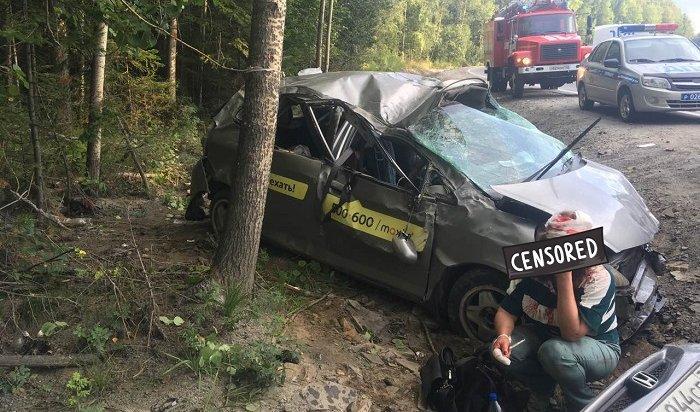 ДТП вШелеховском районе унесло жизни двух человек