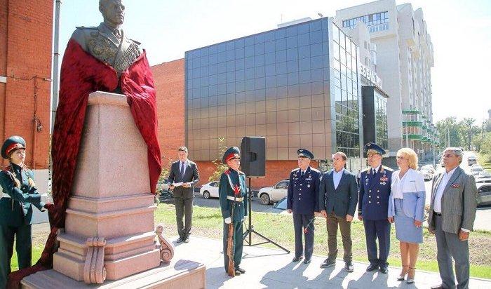 ВИркутске открыли сквер маршалу Константину Рокоссовскому